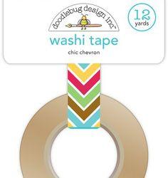 chic chevron washi tape