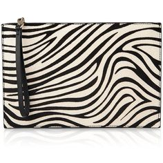 Whistles Java Zebra Print Calf Hair Wristlet (1.834.405 IDR) ❤ liked on Polyvore featuring bags, handbags, clutches, zebra wristlet, pink wristlet, calf hair handbags, wristlet clutches and zebra print handbags