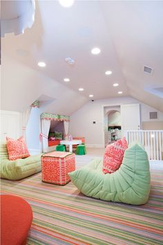Awesome playroom.