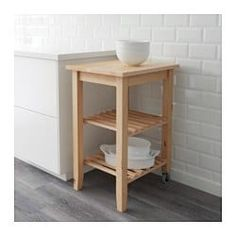 IKEA - BEKVÄM, Kitchen trolley, Solid wood can be sanded and surface treated as needed.Gives you extra storage, utility and work space. Kitchen Island Cart Ikea, Metal Kitchen Island, Kitchen Trolley, Kitchen Storage, Storage Spaces, Kitchen Islands, Butcher Block Kitchen Cart, Chaise Ikea, Utility Cart