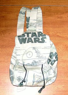 Custom Made Green Star Wars Blueprint Backpack by TheJDove on Etsy