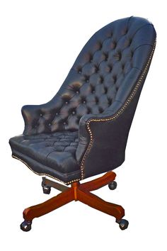 Furicco luxury classical high back office chair | Office ...