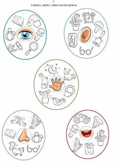 Color Worksheets For Preschool, English Worksheets For Kids, Preschool Learning Activities, Classroom Activities, Preschool Activities, Five Senses Preschool, Cute Powerpoint Templates, All About Me Preschool, Transitional Kindergarten