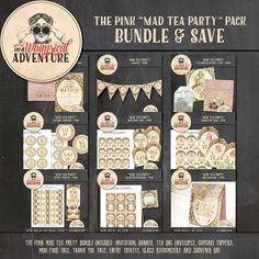 Personal Use :: Bundled Deals :: The Pink Mad Tea Party Pack