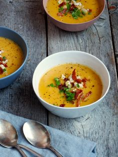 A Food, Food And Drink, Cauliflower Soup, Snacks, Butternut Squash, Eating Well, Soups And Stews, Food Inspiration, Thai Red Curry