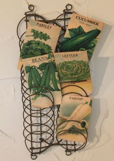 ..vintage seed packs