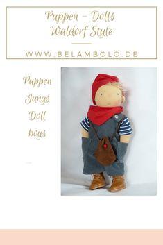 8765c7037e Puppenjunge - Stoffpuppe nach Waldorf Art Doll Boy - Cloth doll according  to waldorf Style #waldorfdoll#waldorf#Puppe#Waldorfeducation#puppenkleidung#  ...