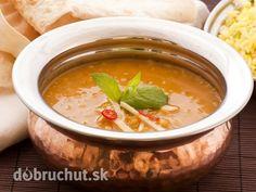 Korenistá šošovicová polievka