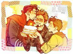 Imagenes yaoi Marvel & DC - Ironstrange - Page 2 - Wattpad Marvel Funny, Marvel Dc Comics, Marvel Avengers, Marvel Heroes, Spideypool, Superfamily, Tony Stark, Stucky, Happy Birthday Tony