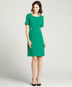 Tahari ASL emerald dress