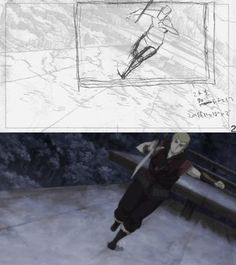 artblog-with-lots-of-booty: Sword of the Stranger ending fight rough