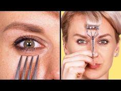 40 weird makeup life hacks every girl can't live without Makeup Life Hacks, Makeup Blog, Makeup Geek, Diy Makeup, Beauty Hacks, Beauty Makeup, Weird Makeup, Crazy Makeup, Teen Makeup Tutorial