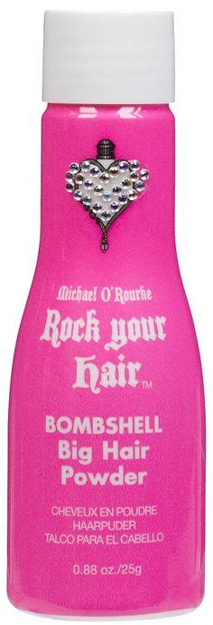 Rock Your Hair Bombshell Big Hair Powder...AWESOME STUFF!