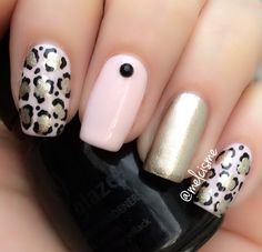 Simple and pretty leopard print
