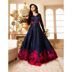 #designer   #floorLength   #RoyalBlue   #Red   #Embroidered   WORLD WIDE SHIPPING, CASH ON DELIVERY AVAILABLE (INDIA), SAME QUALITY AS SHOWN IN IMAGE, Place Your Order On whats app>>+91-8488993000 Visit>>www.styleofsurat.com