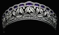 bling, princess, diamond tiara, famili, diamonds, queen, antique tiaras and crowns, amethyst tiara, jewelri