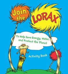 Energy Start Free Lorax Activity Book
