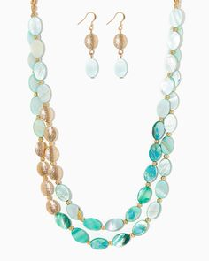Coastal Beads Necklace Set | UPC: 410007548380