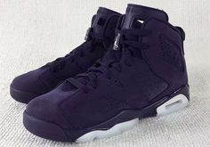 Who Wishes The Air Jordan 6 GS Navy Suede Came In Adult Sizes?