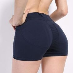 Women High Waist Push Up Stretch Workout Fitness Shorts – Puregemco Fitness Apparel Sexy Jeans, Sexy Shorts, Gym Shorts Womens, Short Shorts, Stretch Shorts, Hot Pants, Girls Jeans, Workout Shorts, Fashion Outfits