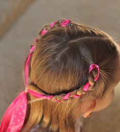 Little Girl Hair Styles : Wanna Be Balanced