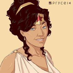 "thehappysorceress: ""Warmup with Diana of Themyscira. Princess Diana, Disney Princess, Paradise Island, Disney Characters, Fictional Characters, Wonder Woman, Amazons, Dc Comics, Sketch"
