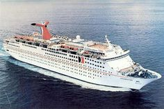 Carnival celebration cruise ship -  I sailed on this ship in July of 1987 with Patti P and several of her friends.  One of her girlfriends married her fiance during the trip!  What a blast!  I was the wedding photographer, the best man was some guy the groom met on the ship, Patti was a bridesmaid...etc.   So fun! vc