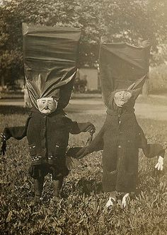 Vintage Halloween, creepy as hell!