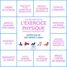 L'exercice physique.