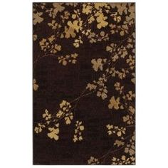 Mohawk Verona Dark Chocolate 8 ft. x 10 ft. Area Rug, synthetic, reviewers say feels good, soft, but some snags a few reviewers said. In stock at Home Depot in Ft. Collins, CO