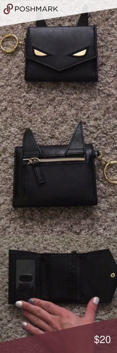 Cute Batman trifold wallet Fun and cute Batman trifold wallet! Superb condition ! Batman Bags Wallets