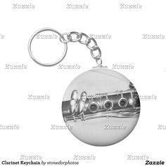 Clarinet Keychain