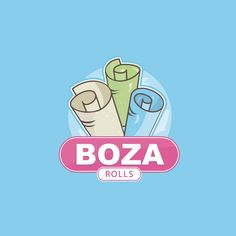 Boza Rolls - Boza Rolls ice cream shop Contest I will open a new icecream shop we will serve a new way call rolls we do it on freezing iron circle by fresh fruits a. Simple Business Cards, Business Card Logo, Ice Cream Roll, Image Roll, Facebook Cover Design, Custom Logos, Rolls, Branding, Creative