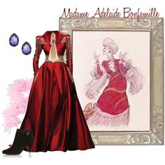 """Madame Adelaide Bonfamille"" by merahzinnia on Polyvore"