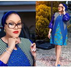 to mix ankara and plain fabrics - Stylish Naija Short African Dresses, Latest African Fashion Dresses, African Print Dresses, African Print Fashion, Women's Fashion Dresses, Ankara Styles For Women, Elegant Dresses For Women, African Attire, Fabrics