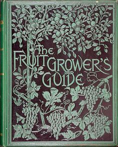 ≈ Beautiful Antique Books ≈ Wright Fruit Growers Guide, 1891