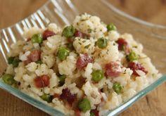 Riz aux petits pois et au jambon WW, recette d'un délicieux plat de riz facile et simple à réaliser pour un repas léger accompagné d'une bonne salade.
