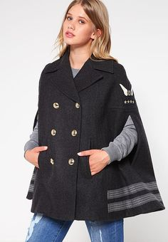Vêtements Tommy Hilfiger GIGI HADID - Cape - grey gris: 399,00 € chez Zalando (au 31/12/16). Livraison et retours gratuits et service client gratuit au 0800 915 207.