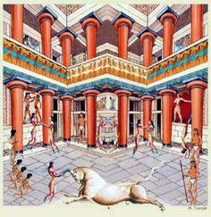 Minoicos (Creta) y egipcios en Avaris y Malqata (Egipto) La Taurokatapsia | Terrae Antiqvae