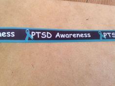 PTSD Awareness Ribbon, 5 Yards Ptsd Awareness, Awareness Ribbons, Yards, Crafts, Manualidades, Handmade Crafts, Diy Crafts, Craft, Arts And Crafts