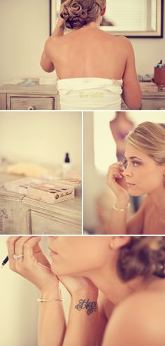 I want pictures like this for my wedding:) and him getting ready too :}