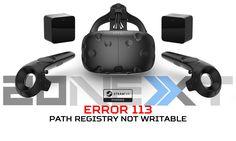 Fix the HTV Vive Error 113