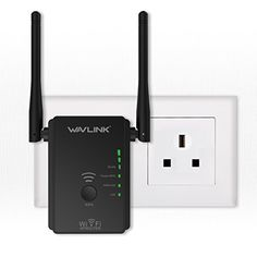 From 17.26 Wavlink N300 Wifi Range Extender / Access Point With 2 External Antennas(wifi Booster)