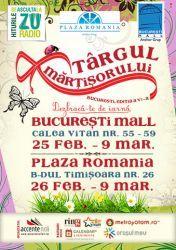 Se deschide Targul Martisorului 2014, editia a VI-a - Dezbraca-te de iarna la Bucuresti Mall si Plaza Romania!