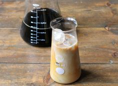 Cardamom Cold Brew Iced Coffee   Oxo Cold Brewer   Veggie Desserts Blog