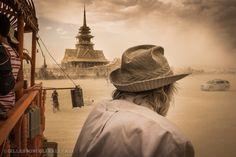 Photograph of Burning Man Festival by Gilles Bonuglikali / A33