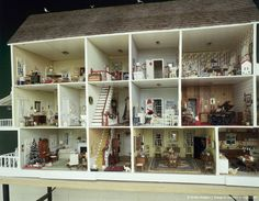 Georgian Dolls house interior\