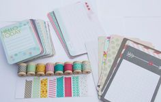 Project Life - 5th & Frolic - Card Pack plus Washi Tape $17.50