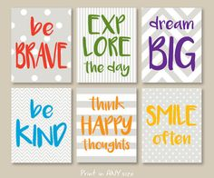Check out our art room rules selection for the very best in unique or custom, handmade pieces from our shops. Playroom Signs, Playroom Wall Decor, Kids Room Wall Art, Kids Artwork, Tree Artwork, Playroom Ideas, Nursery Decor, Art Room Rules, Motivational Quotes For Kids