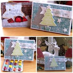 Stampin' Up!, Weihnachten, Mini-Adventskalender-to-go
